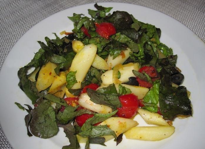 Spargel-Rucola-Salat