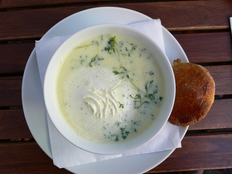 Feine Kressesuppe