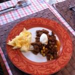 Beef mit Nachos (Rezept erlebt in NZ 24.02.2014)
