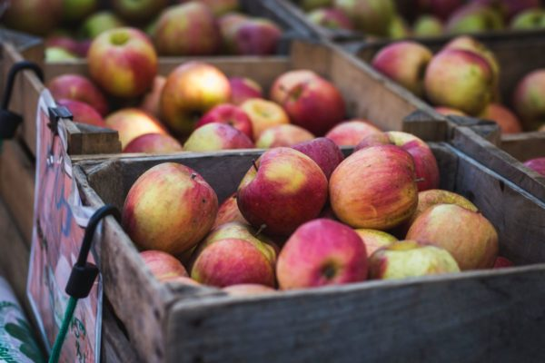 Quark-Apfel-Püfferchen